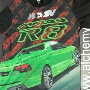 T-shirt (Boys) HOLDEN HSV MALOO R8 (SIZE 10, Used)